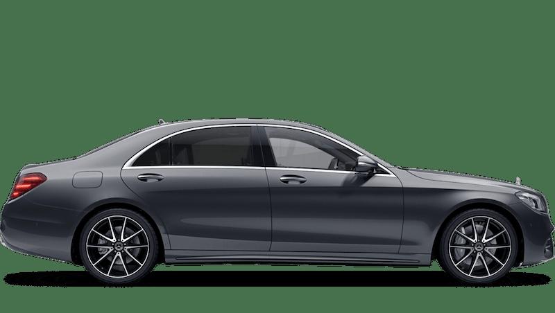 Selenite Grey (Metallic) Mercedes-Benz S Class Saloon