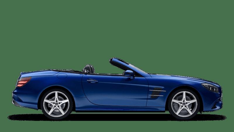 Brilliant Blue (Metallic) Mercedes-Benz SL Roadster