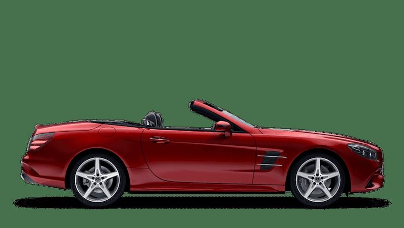 Hyacinth Red (Designo Metallic) Mercedes-Benz SL Roadster
