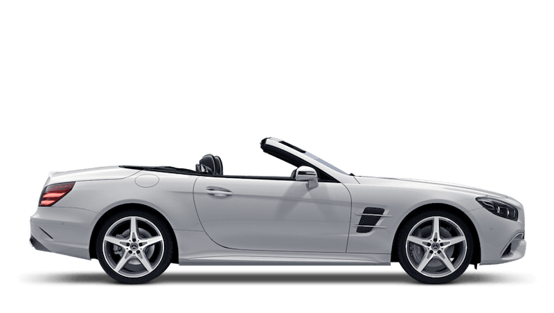 Polar White (Solid) Mercedes-Benz SL Roadster