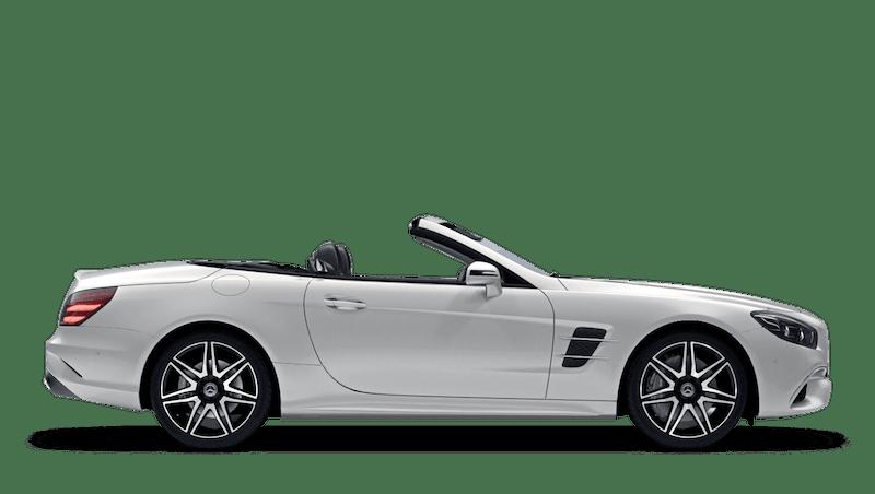 Diamond White (Designo Metallic) Mercedes-Benz SL Roadster