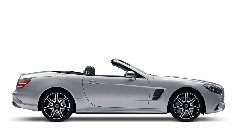 Iridium Silver (Metallic) Mercedes-Benz SL Roadster