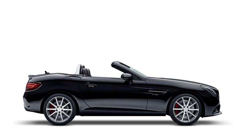 Black (Solid) Mercedes-Benz SLC Roadster