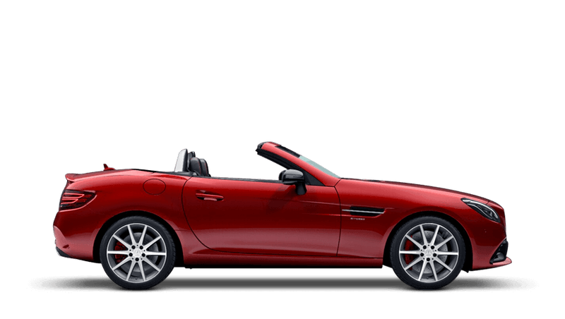 Hyacinth Red (Designo Metallic) Mercedes-Benz SLC Roadster