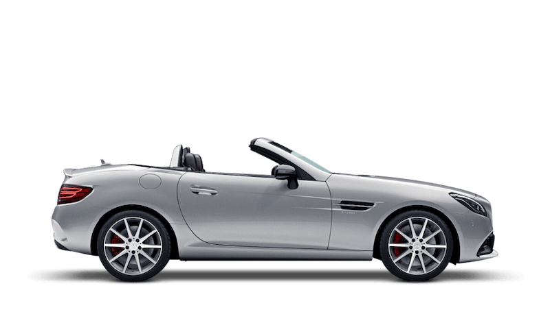 Iridium Silver (Metallic) Mercedes-Benz SLC Roadster