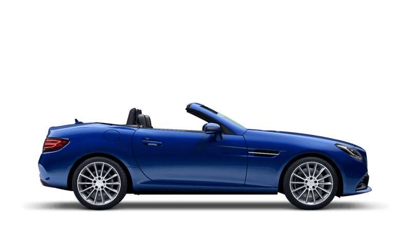 Brilliant Blue (Metallic) Mercedes-Benz SLC Roadster