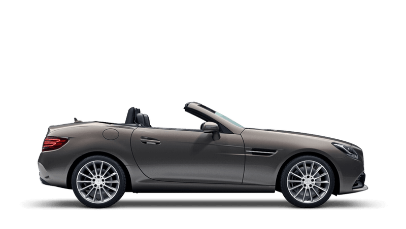 Indium Grey (Metallic) Mercedes-Benz SLC Roadster