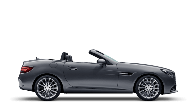 Selenite Grey (Metallic) Mercedes-Benz SLC Roadster