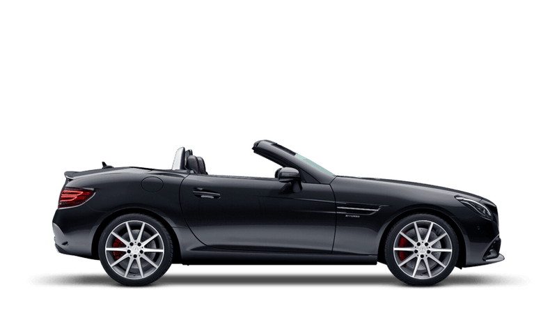 Obsidian Black (Metallic) Mercedes-Benz SLC Roadster