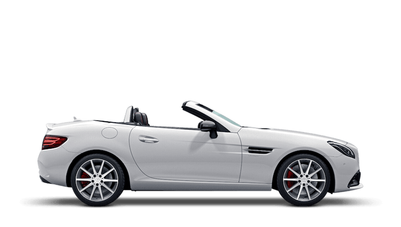 Polar White (Solid) Mercedes-Benz SLC Roadster