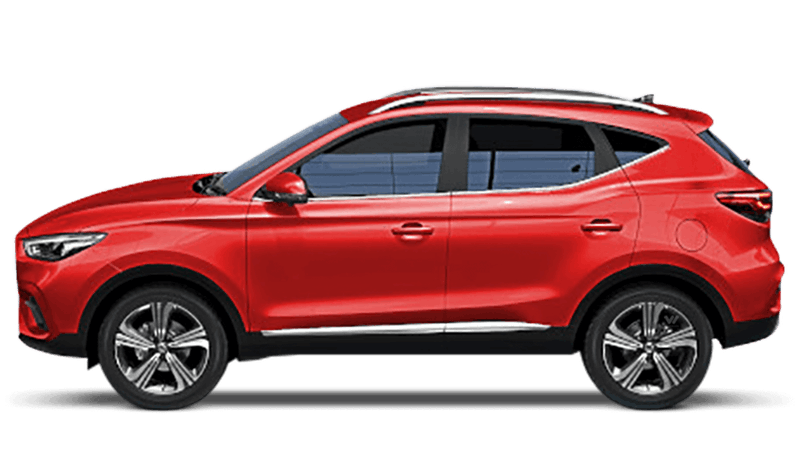 Dynamic Red New MG ZS