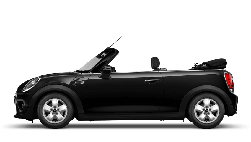 Midnight Black (Metallic) MINI Convertible