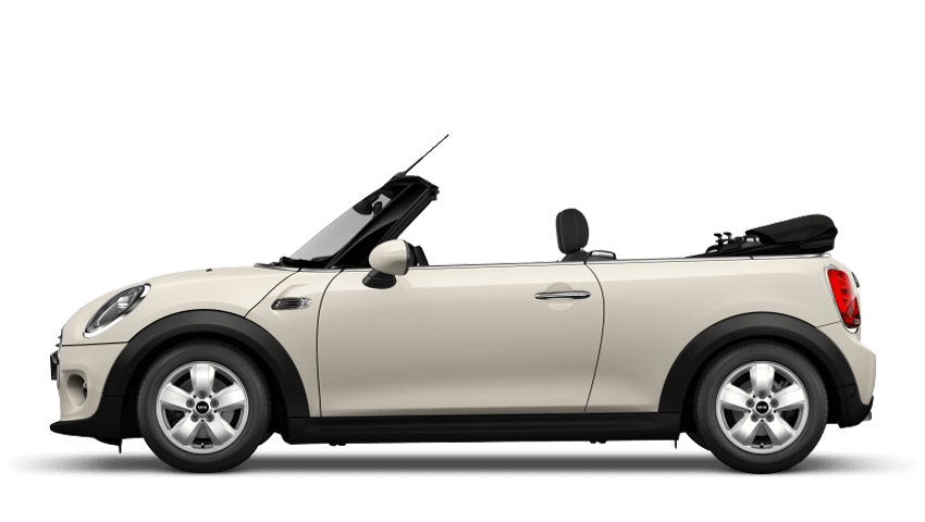 Pepper White (Solid) MINI Convertible