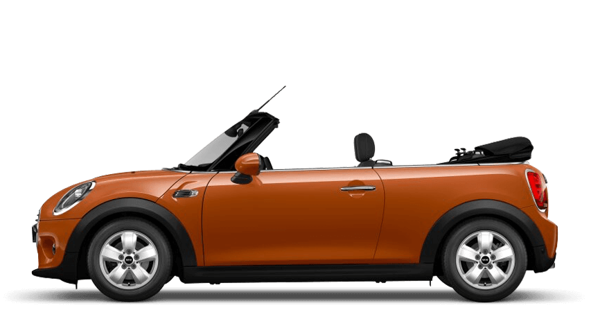 Solaris Orange (Metallic) MINI Convertible