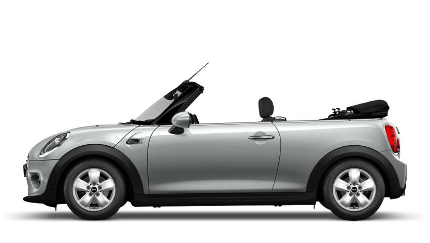 White Silver (Metallic) MINI Convertible