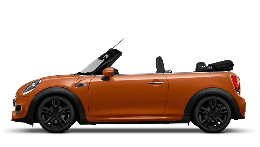Solaris Orange (Metallic) MINI Convertible