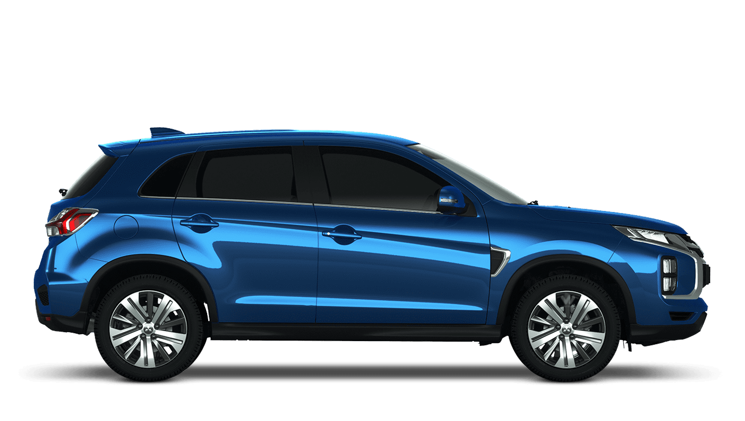 Lightning Blue Mitsubishi Asx New