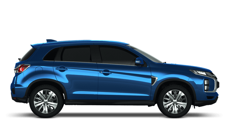 Lightning Blue New Mitsubishi ASX
