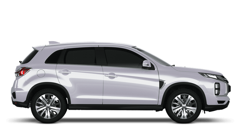 White pearl New Mitsubishi ASX