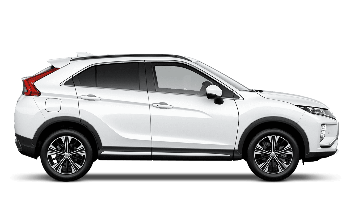 Frost White Mitsubishi Eclipse Cross