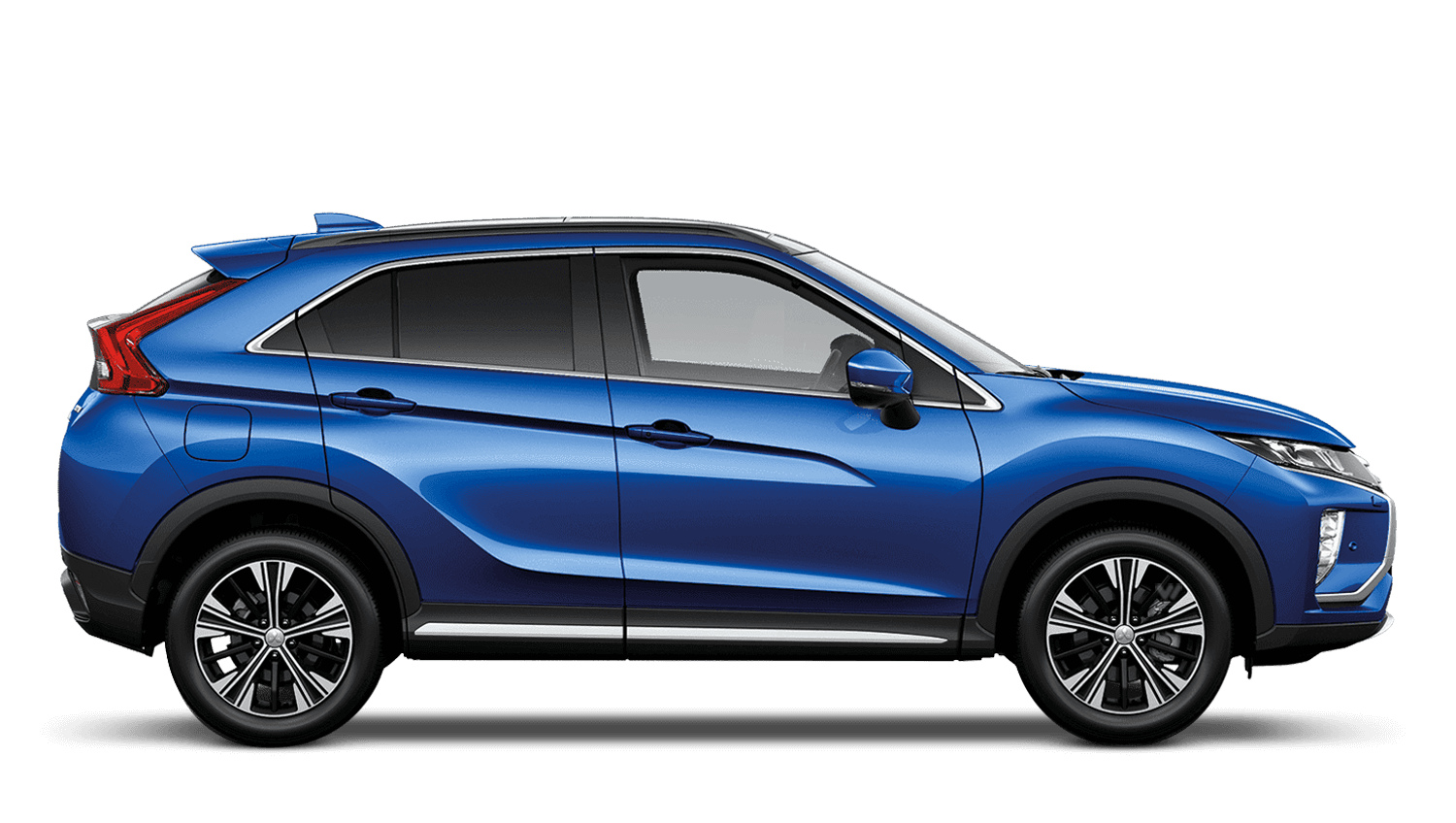 Lightning Blue Mitsubishi Eclipse Cross