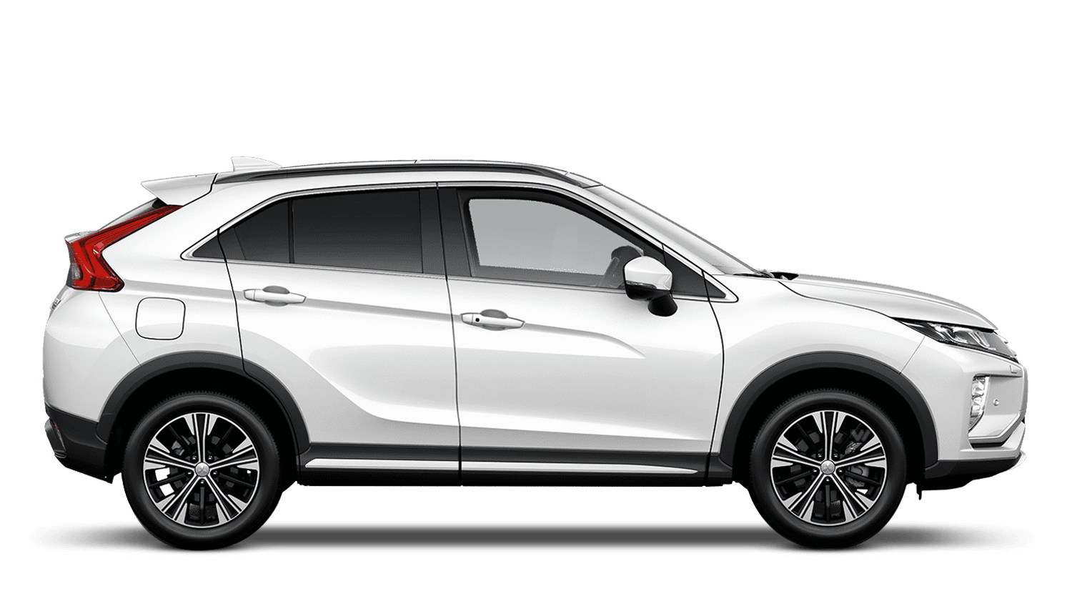 White Pearl Mitsubishi Eclipse Cross