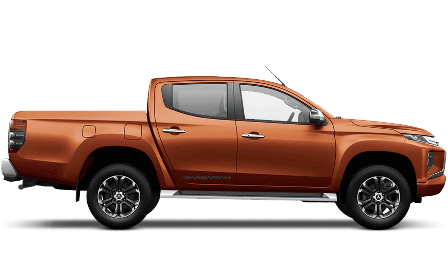 Sunflare Orange All-New Mitsubishi L200
