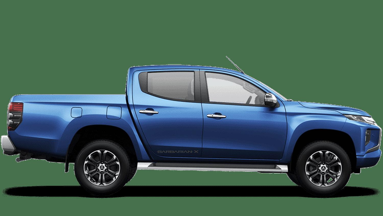 Electric Blue All-New Mitsubishi L200