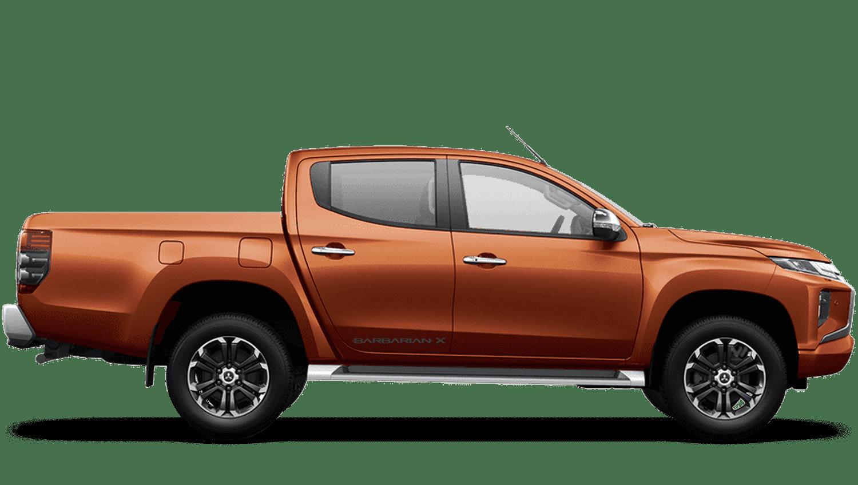 Sunflare Orange All-New Mitsubishi L200