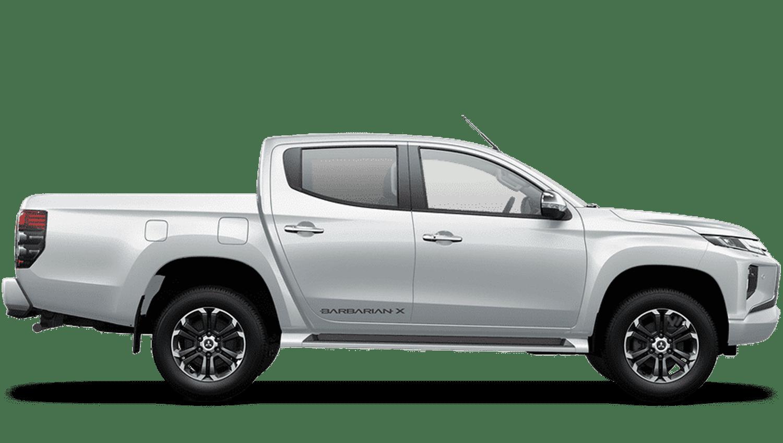White Diamond All-New Mitsubishi L200
