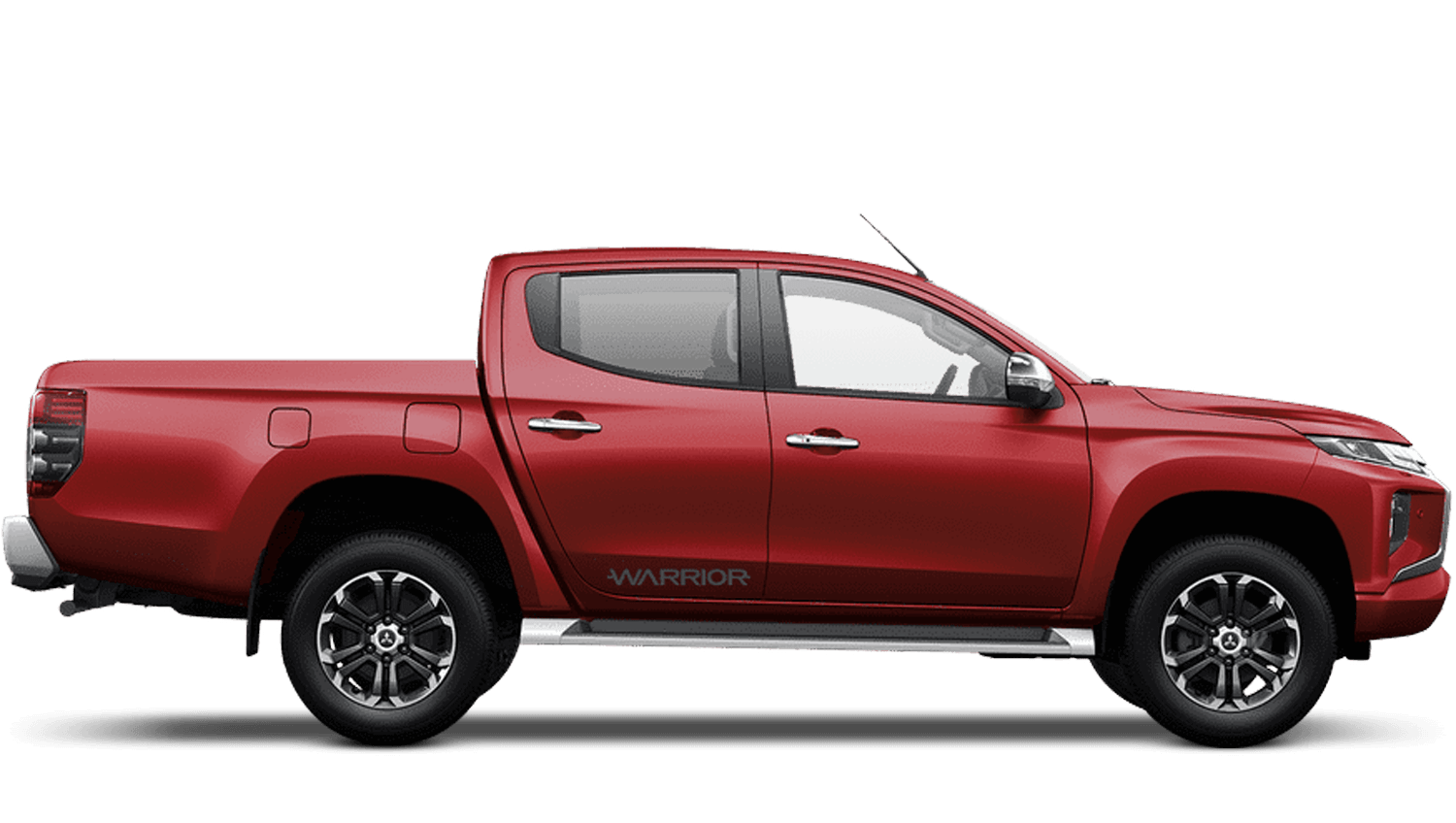 Volcanic Red All-New Mitsubishi L200