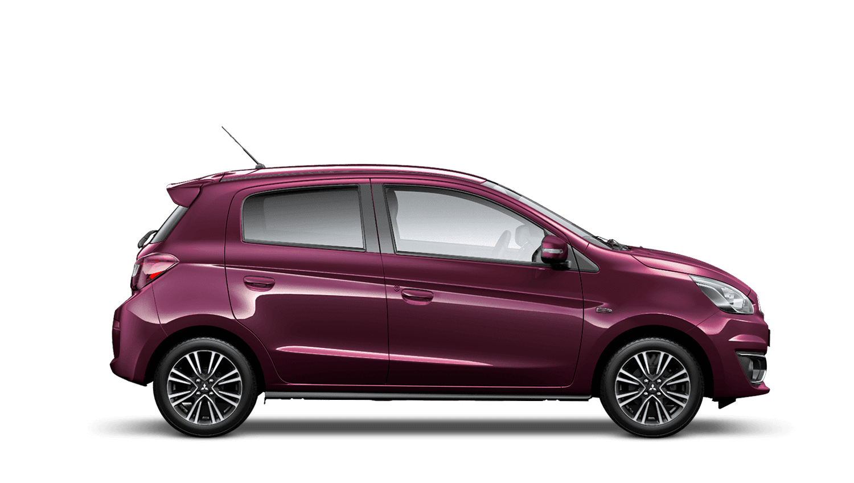 Purple Berry Mitsubishi Mirage
