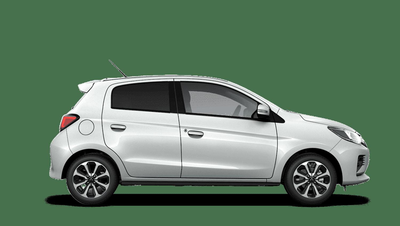 Polar White New Mitsubishi Mirage