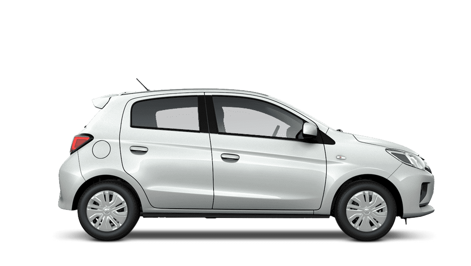 Polar White New Mitsubishi Mirage