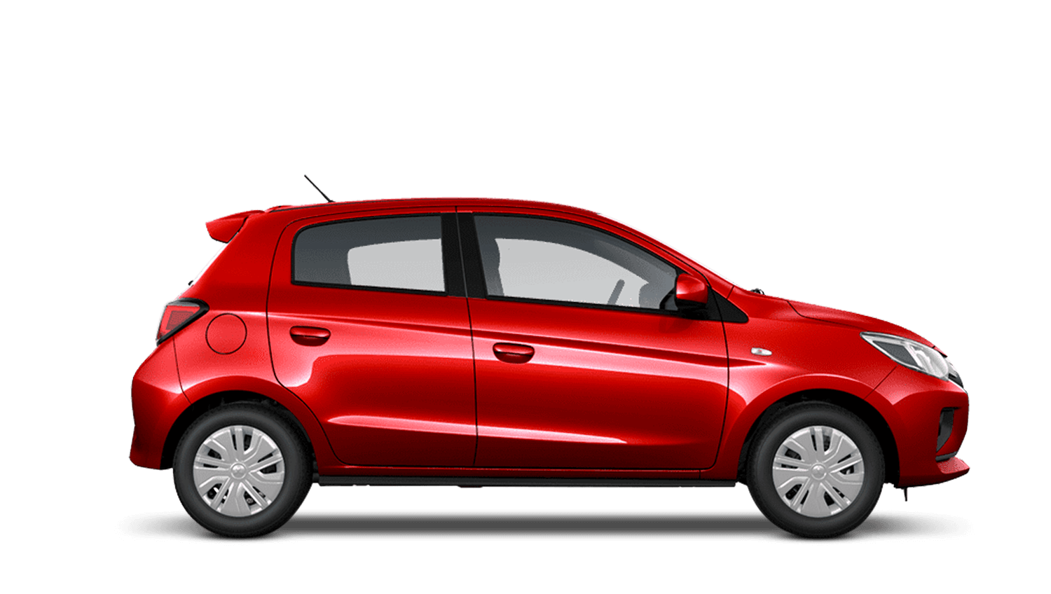 Red Metallic New Mitsubishi Mirage