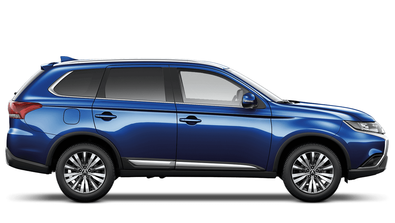 Tanzanite Blue Mitsubishi Outlander