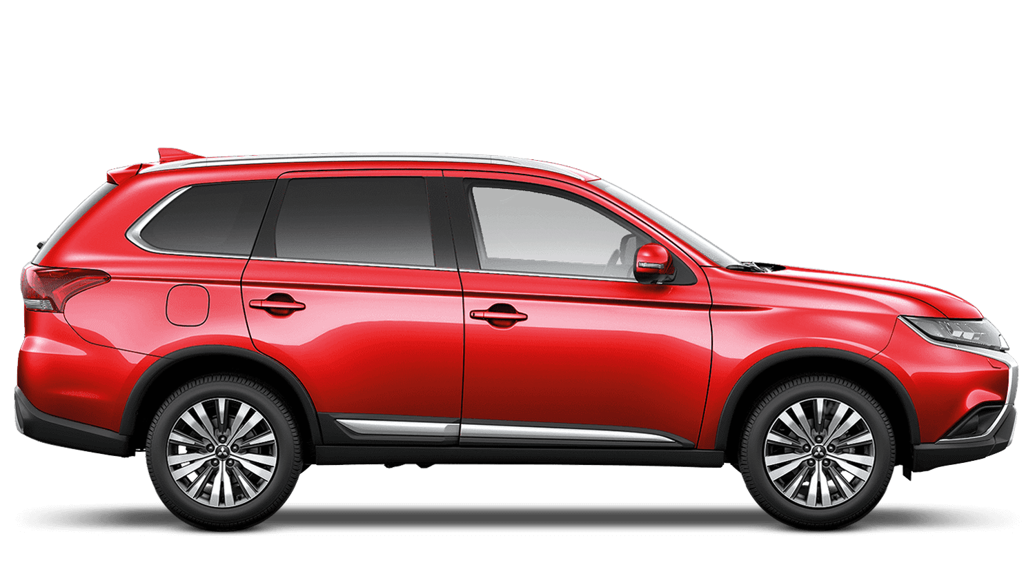 Red Diamond Mitsubishi Outlander