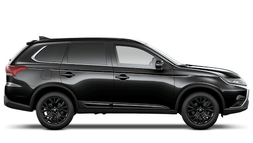 mitsubishi Outlander Black Offer