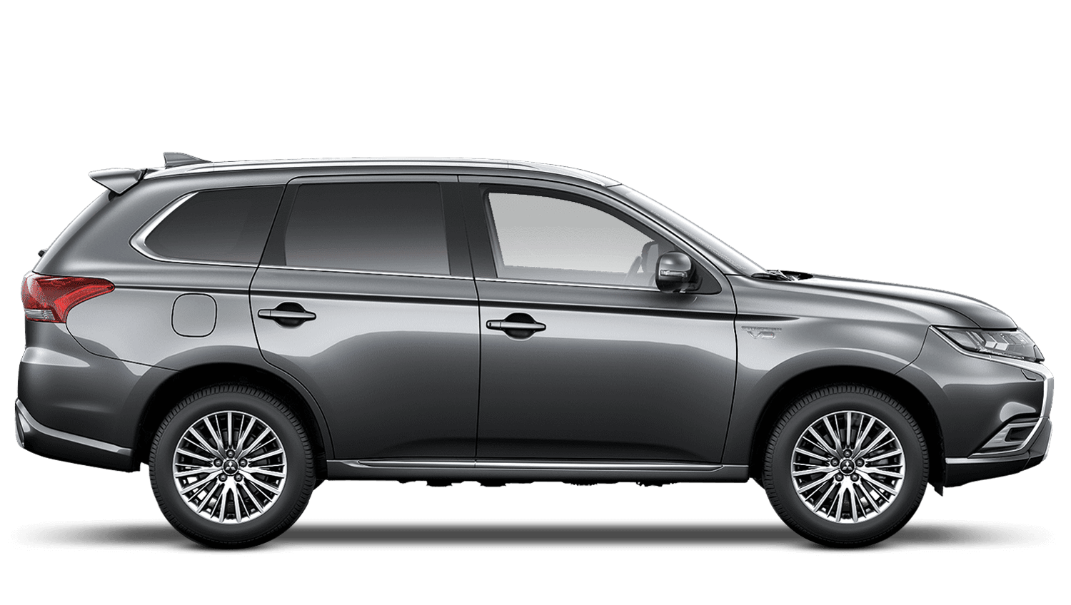 Atlantic Grey Mitsubishi Outlander PHEV