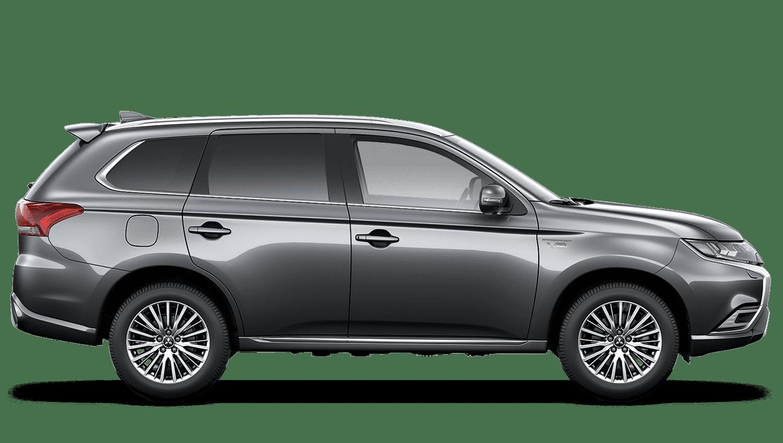 Atlantic Grey Mitsubishi Outlander PHEV