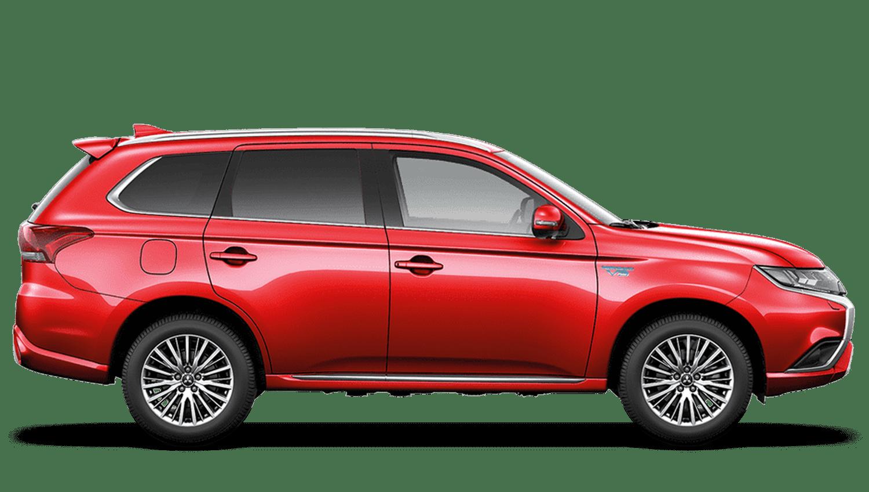Red Diamond Mitsubishi Outlander PHEV