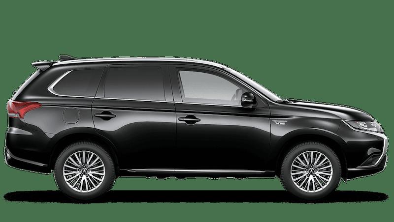 Amethyst Black (Pearl) Mitsubishi Outlander PHEV Commercial