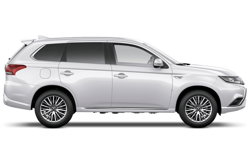 Frost White (Standard) Mitsubishi Outlander PHEV Commercial