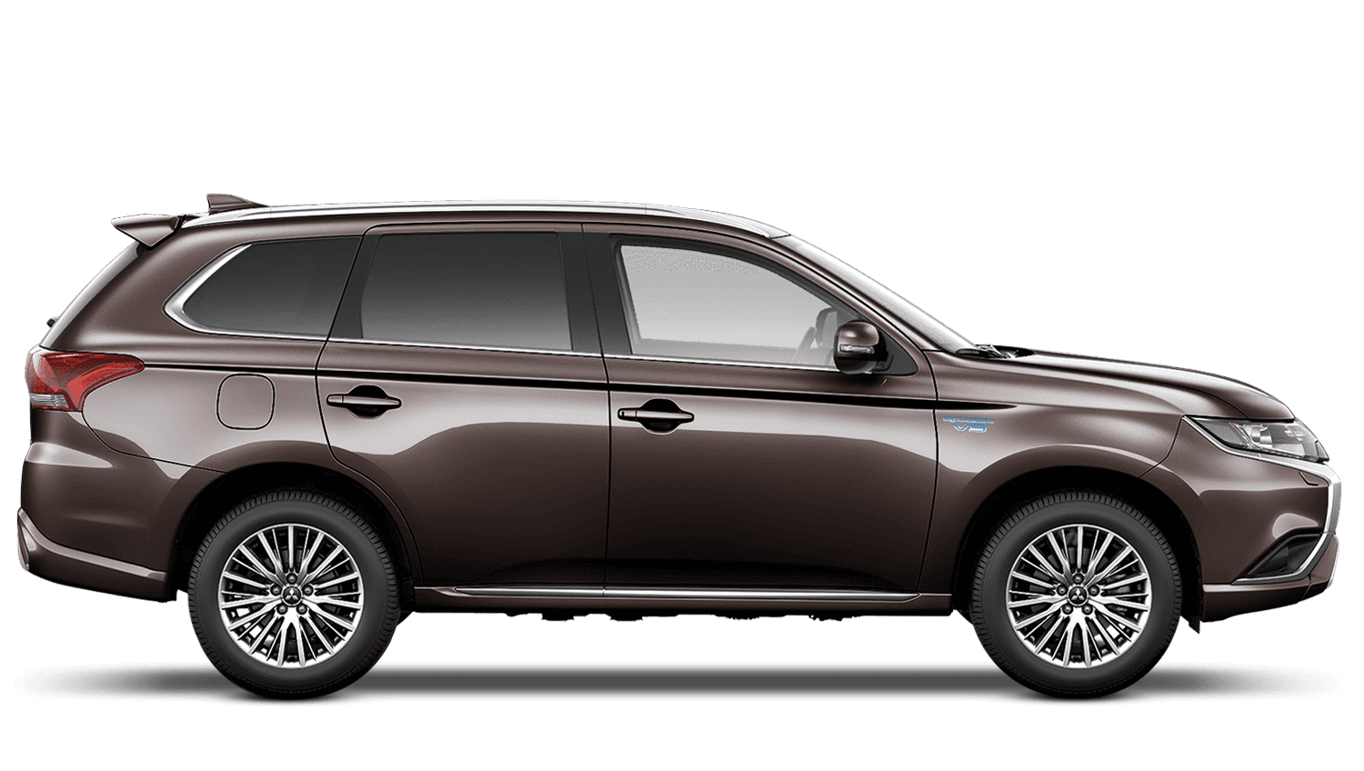 Granite Brown (Metallic) Mitsubishi Outlander Phev Commercial