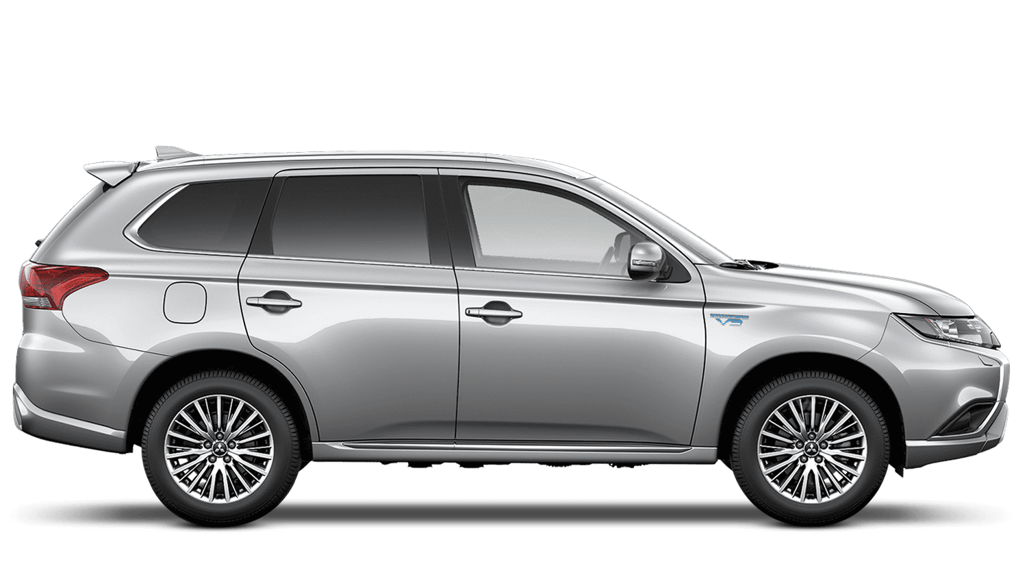 Sterling Silver (Metallic) Mitsubishi Outlander Phev Commercial