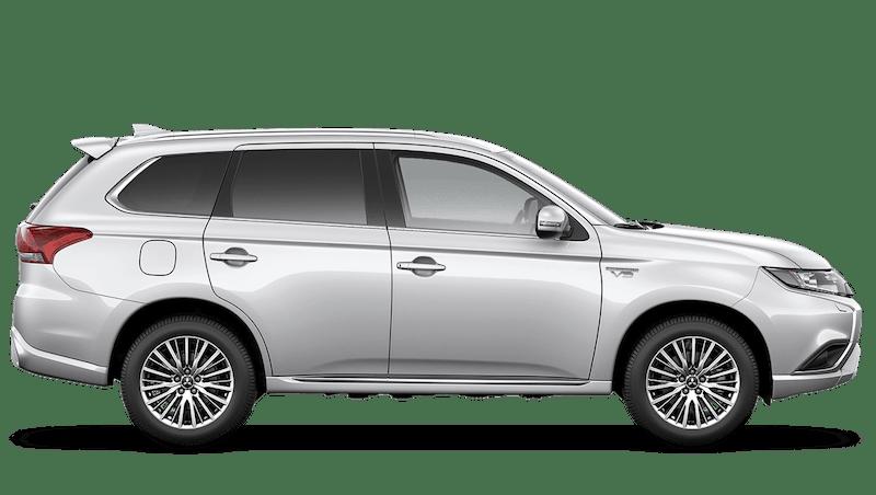 White Pearl (Pearl) Mitsubishi Outlander PHEV Commercial