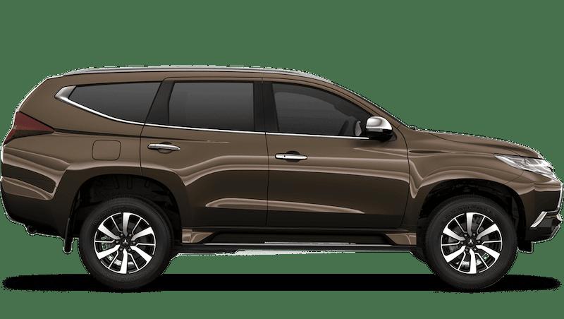 Deep Bronze (Metallic) Mitsubishi Shogun Sport