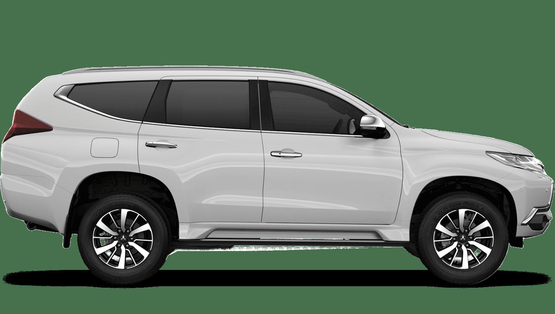 Polar White (Standard) Mitsubishi Shogun Sport