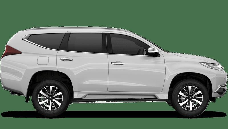 Polar White (Standard) Mitsubishi Shogun Sport Commercial