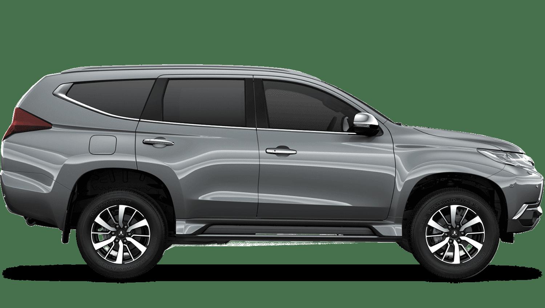 Sterling Silver (Metallic) Mitsubishi Shogun Sport Commercial